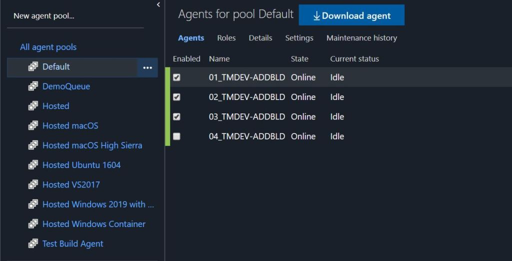 Azure DevOps Build Agents